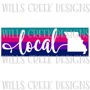 Local Missouri Stripes Digital Download