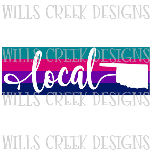 Oklahoma Local Stripe Digital Download
