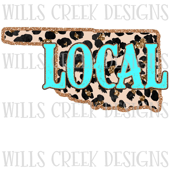 Oklahoma Turquoise Local Digital Download