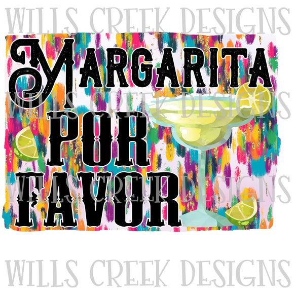 Margarita Por Favor Digital Download