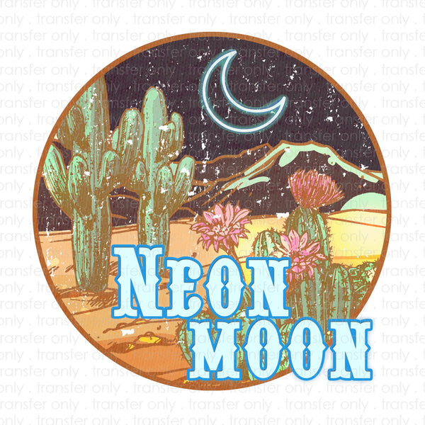 Neon Moon Sublimation Transfer