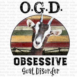 Obsessive Goat Disorder Subliamtion Transfer