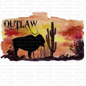 Outlaw Sublimation Transfer