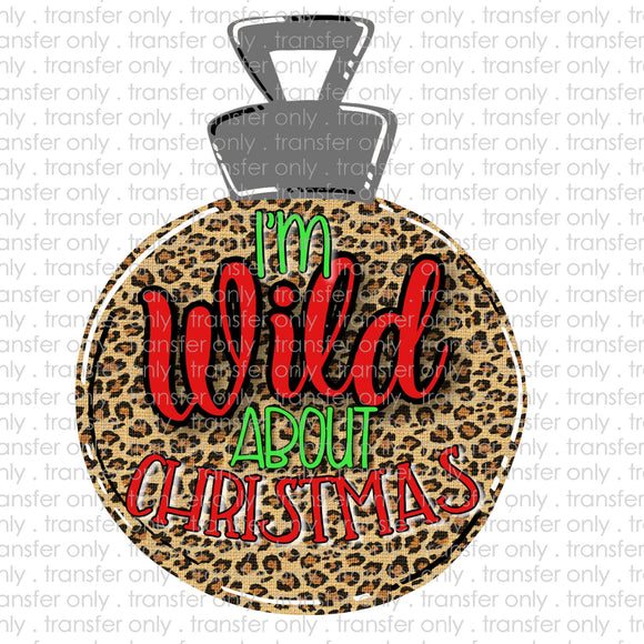 Wild About Christmas Sublimation Transfer