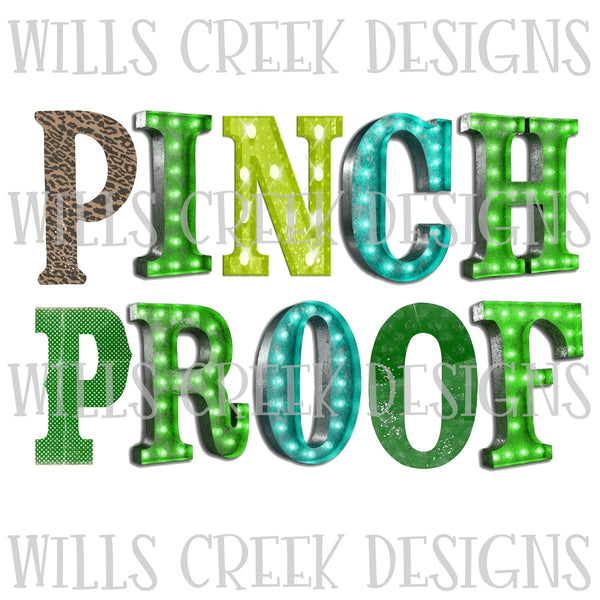 Pinch Proof DIgital Download
