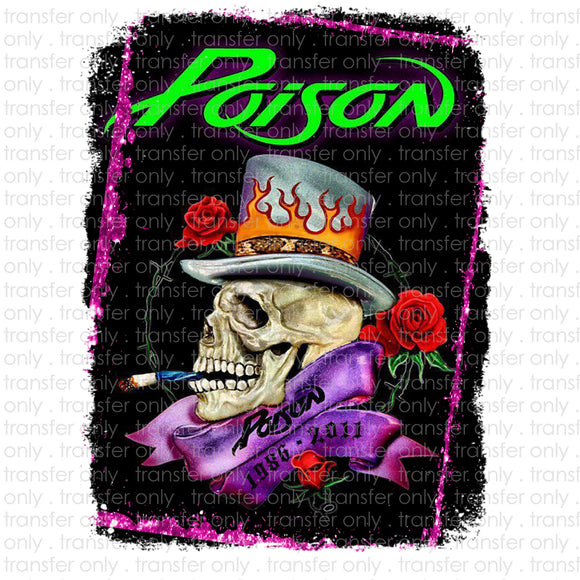 Poison Sublimation Transfer