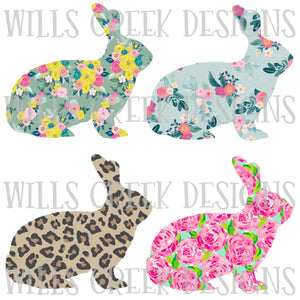 Rabbit Patterns Bundle Digital Download