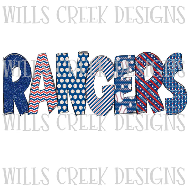 Rangers Sublimation Transfer