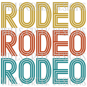 Rodeo Rodeo Rodeo Digital Download