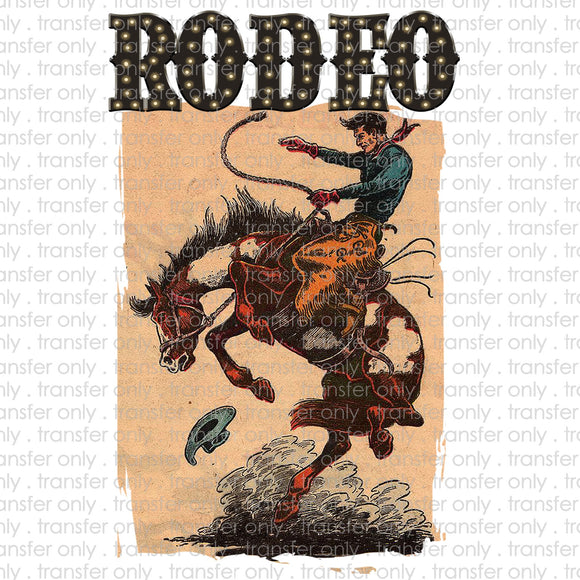 Rodeo Sublimation Transfer