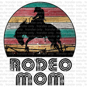 Rodeo Mom Sublimation Transfer