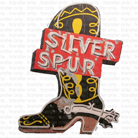 Silver Spur Sublimation Transfer