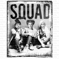 SQUAD Witches Heat Transfer Vinyl Transfer