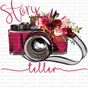 Story Teller Photography Sublimation Transfer