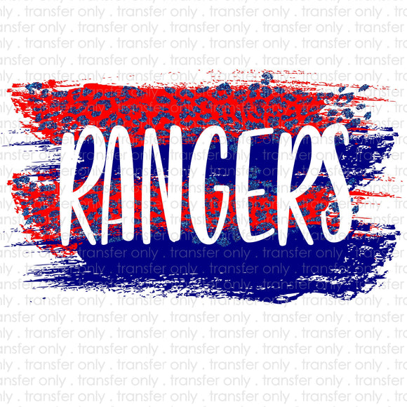 Rangers Stripes Sublimation Transfer