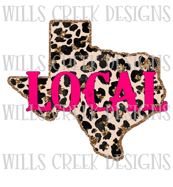 Texas Local Sublimation Transfer