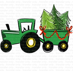 Tractor Tree Sublimation Transfer