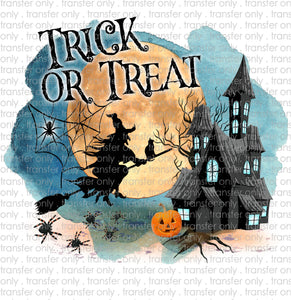 Trick or Treat Sublimation Transfer