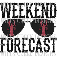 Weekend Forecast Crawfish Digital Download
