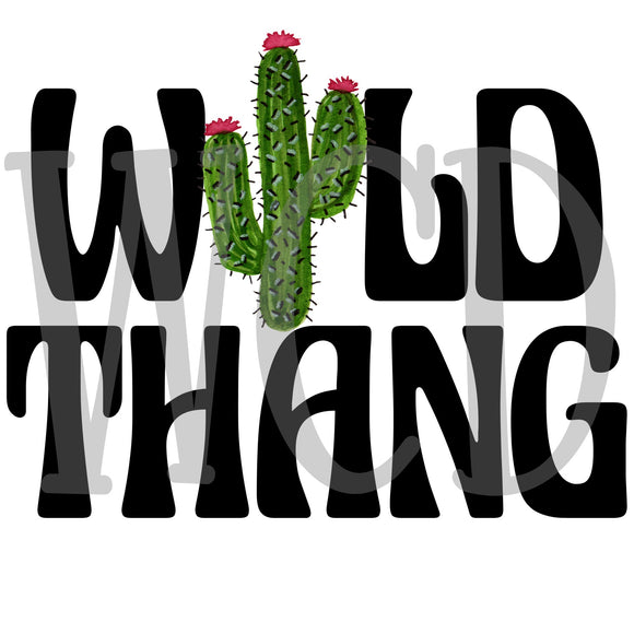 Wild Thang Sublimation Transfer