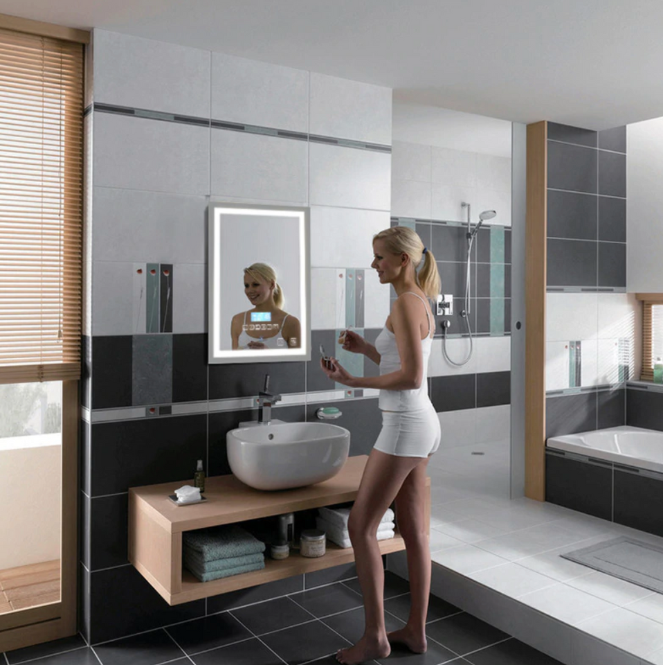 Prime Premium Touch Screen Backlit Led Bathroom Mirror 94Westend Download Free Architecture Designs Sospemadebymaigaardcom