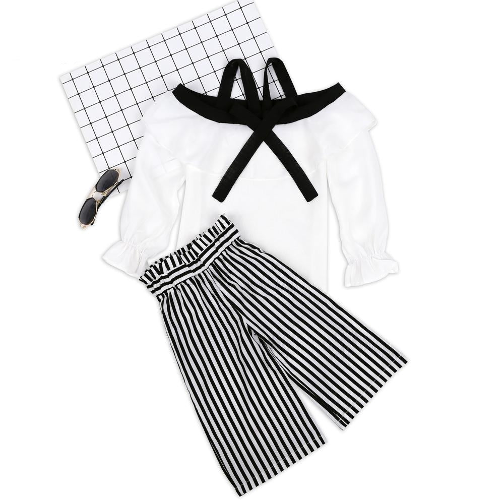 Zoey Striped Set