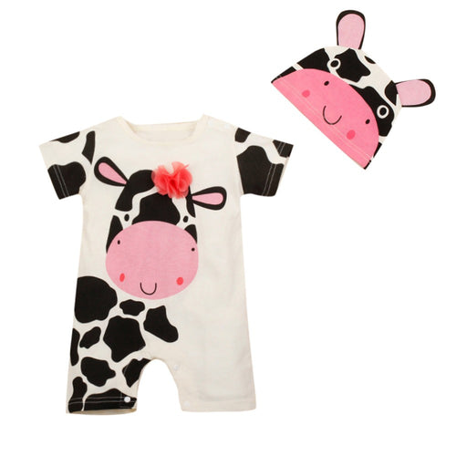 Riley Cow Jumpsuit
