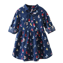 Load image into Gallery viewer, Eva Sailboat Dress