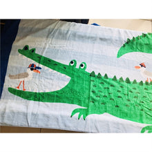 Load image into Gallery viewer, Crocodile Towel