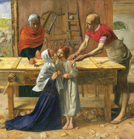 Christ in the House of His Parents (John Everett Millais)