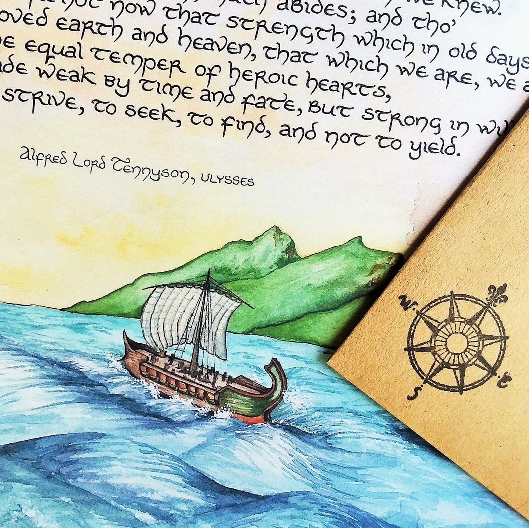 Letter #2: Ulysses and the Voyage of the Dawn Treader