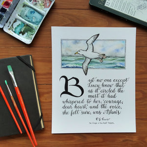 Courage, Dear Heart (Narnian Albatross)