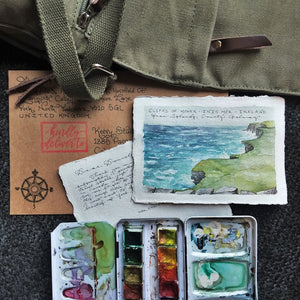 Surprise Me: Original Watercolor Travel Sketches