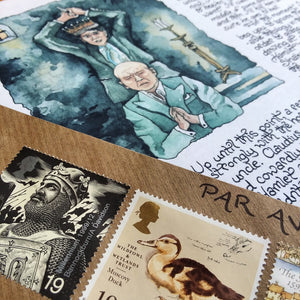 Past Letters Bundle [7 through 12 of the Letters From The Sea Tower]