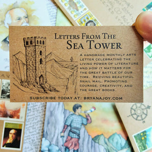 Letter #10: Childe Roland to the Dark Tower Came