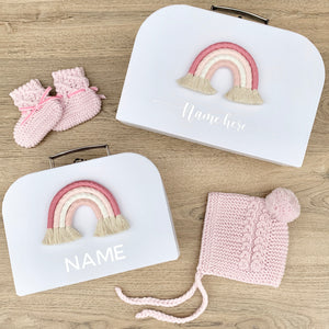 - Pink - Personalised Rainbow Keepsake Box