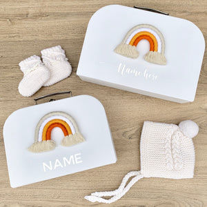 - Earthy - Personalised Rainbow Keepsake Box
