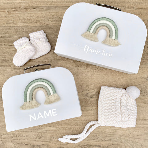 - Sage - Personalised Rainbow Keepsake Box