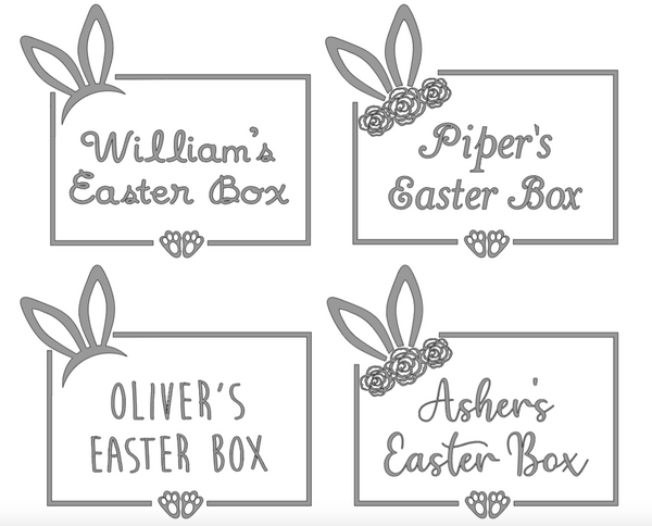 My First Easter Keepsake Box - Boys 6-12 Months