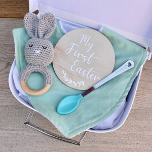 Mini Personalised Easter Gift Box - Sage