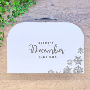 Personalised December First Box