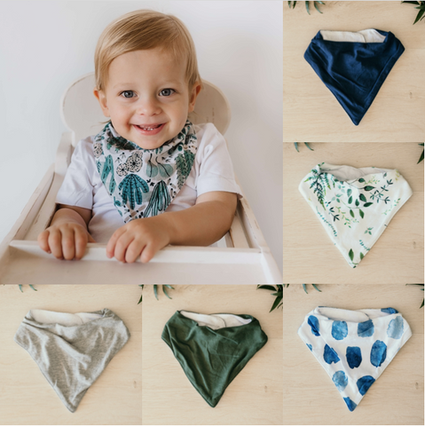 Dribble Bandana Bibs {Neutral & Boys}