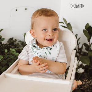 Enchanted Dribble Bandana Bib