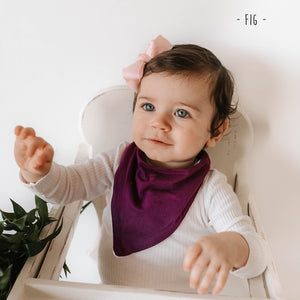 Fig Dribble Bandana Bibs