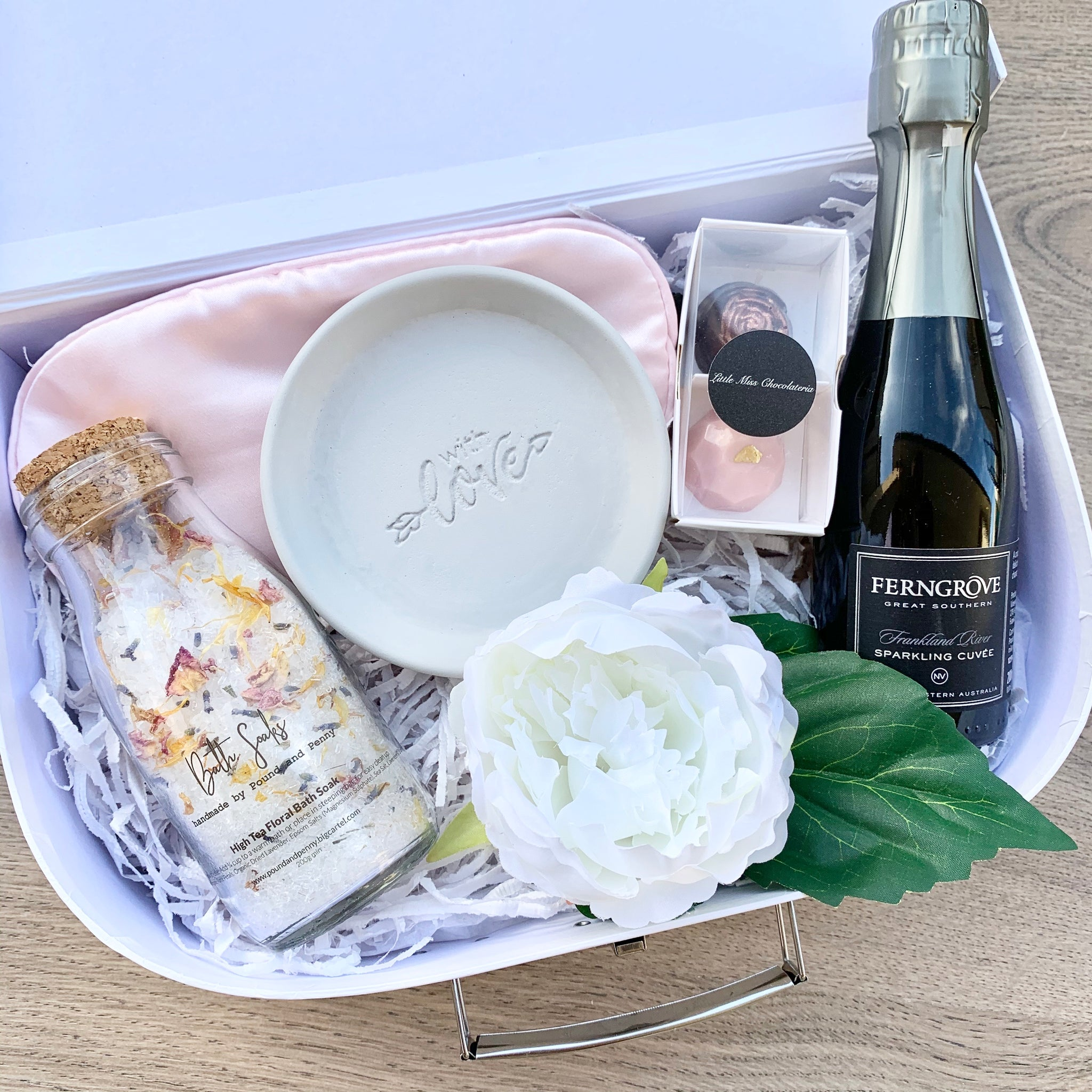 Personalised Gift Box with Bubbles