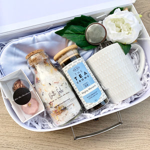 Personalised Gift Box with Breakfast Tea