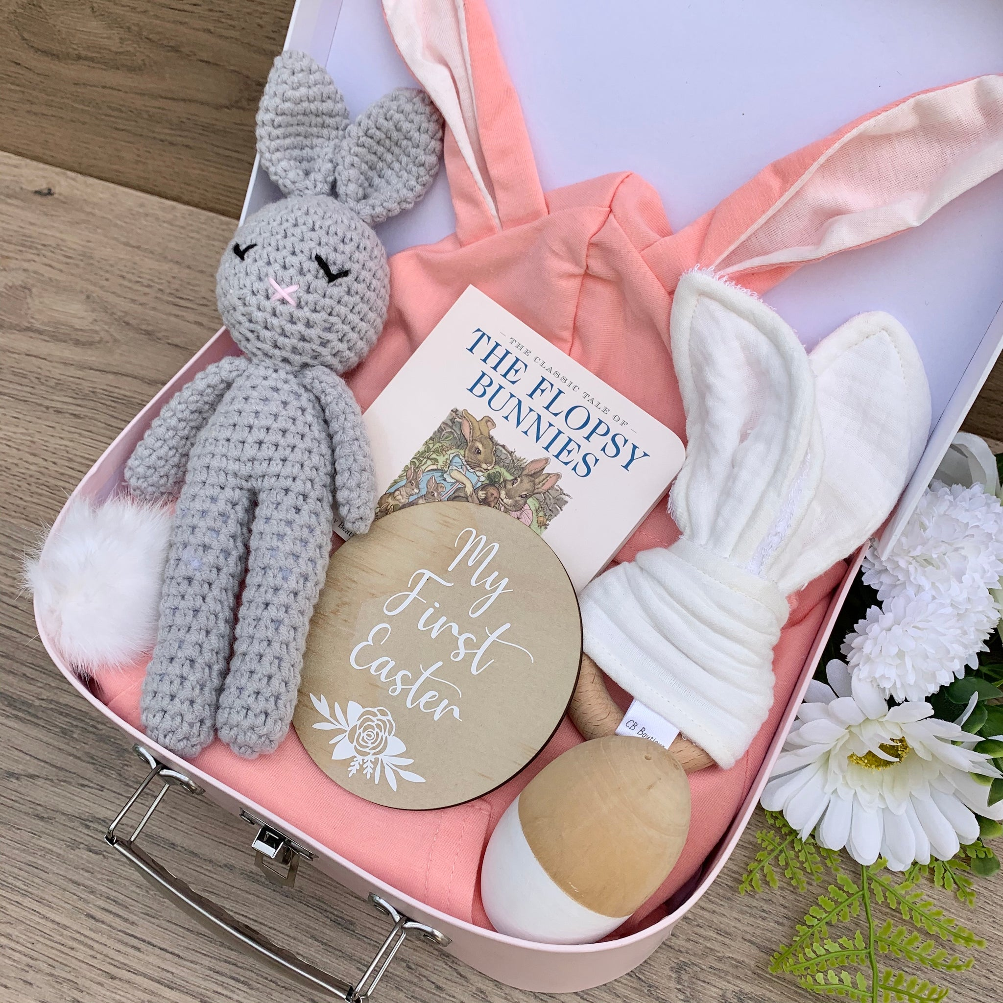 My First Easter Keepsake Box - Girls 6-12Months