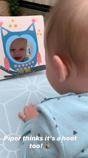 """My Little Friends In The Mirror"" Baby Book"
