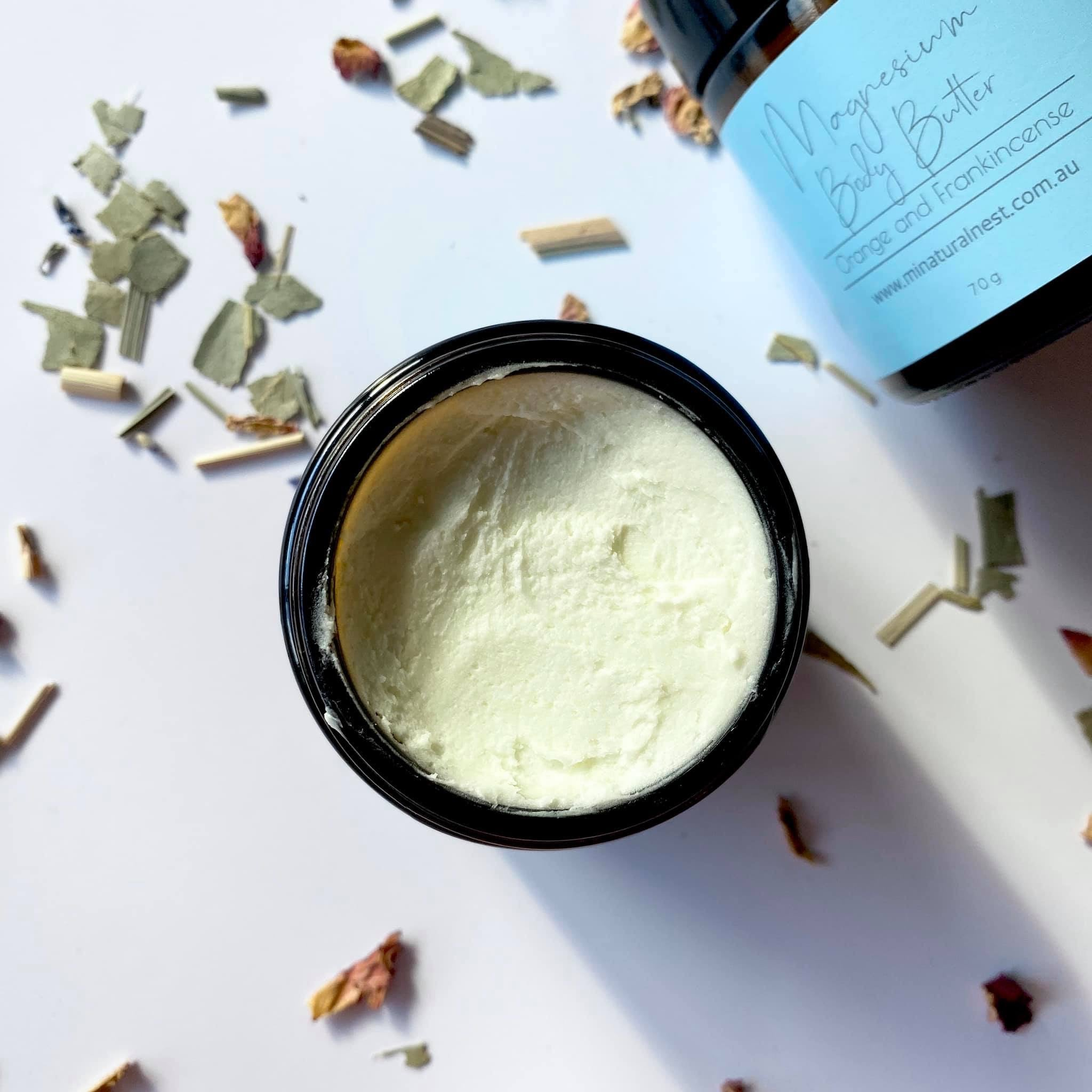 Magnesium Body Butter {Orange & Frankincense}