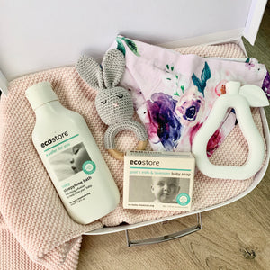 Pink Classic Winter Baby Box